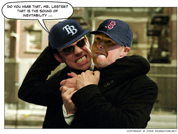 Agent Smith takes down Red Sox pitcher Jon Lester