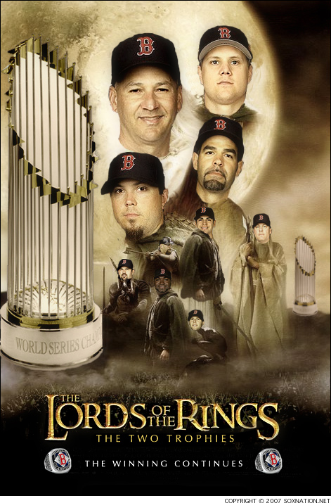 The Boston Red Sox are the 2007 World Champions