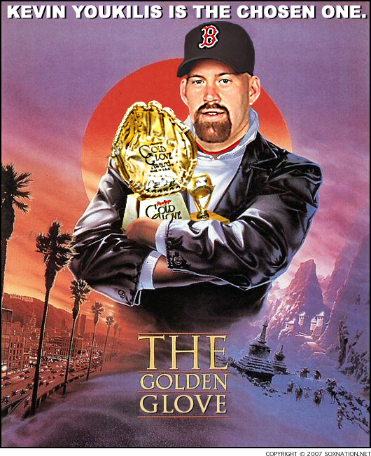 Kevin Youkilis: American League Gold Glove-winning First Baseman