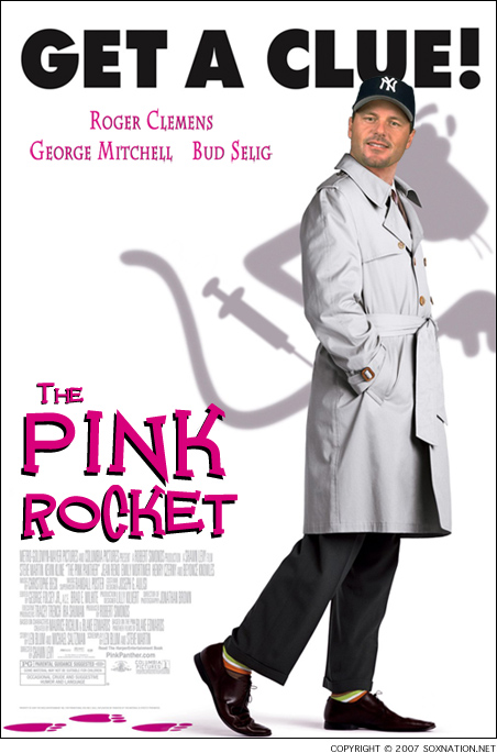 Roger Clemens, a.k.a. The Pink Panther