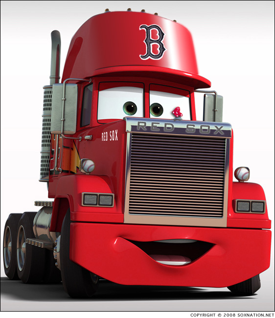 The Boston Red Sox' gear is headed to Ft. Myers