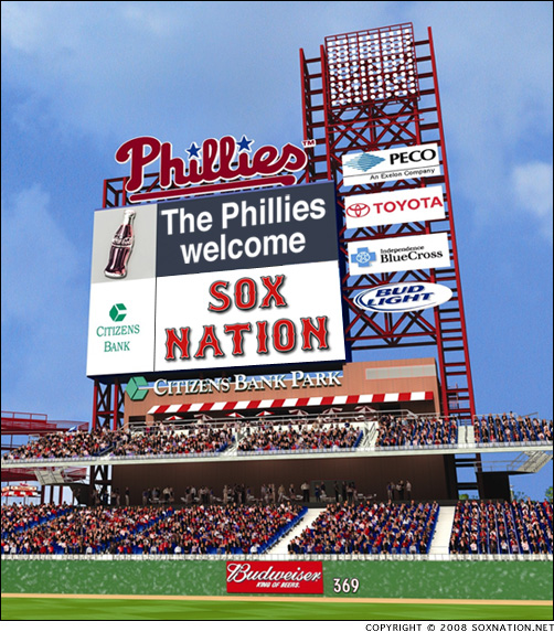 SoxNation.net visits Philadelphia to see the Boston Red Sox play the Phillies
